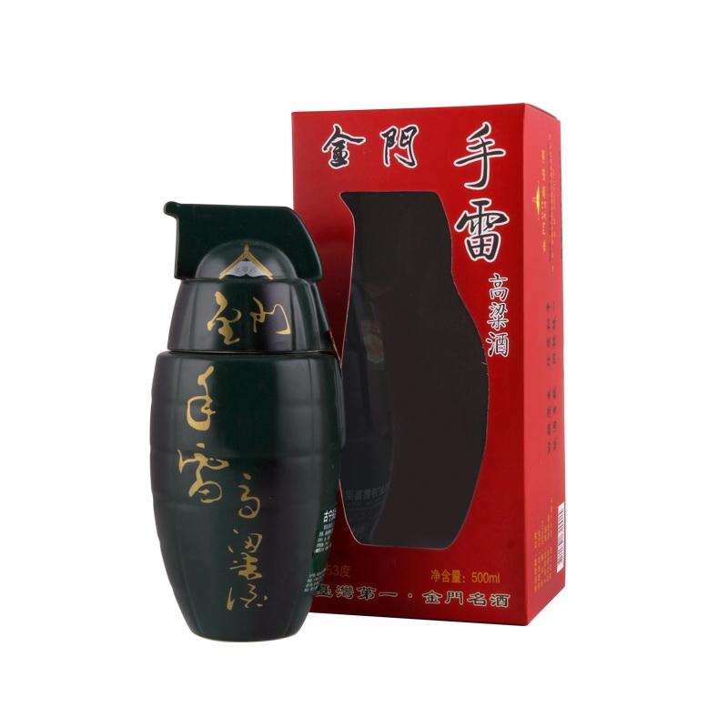 0.5L-53度金门手雷高粱酒