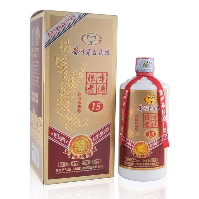 茅台集团巴拿马陈年老酒15年52度(浓香型)